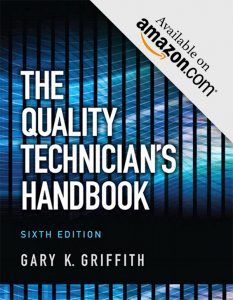 Quality Technician's Handbook 6th Edition